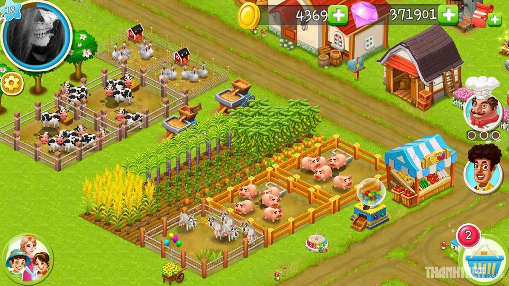 nông trại việt hack